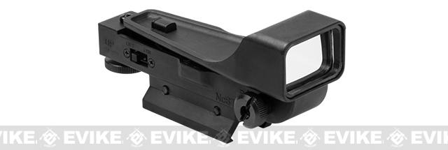 NcStar Gen II Aluminum Red Dot Sight with 20mm Mount - Black