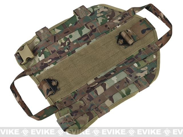 z Pro-Arms Tactical Dog Vest - Camo / Small