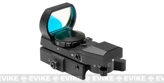 NcSTAR Rogue Red LED 4 Reticle Reflex Sight w/ QR Mount