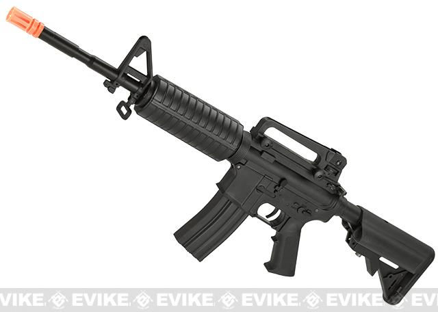 z Go Airsoft Starter Package DyTac Sportsline M4A1 Lipo Ready Airsoft AEG Rifle Package - Black