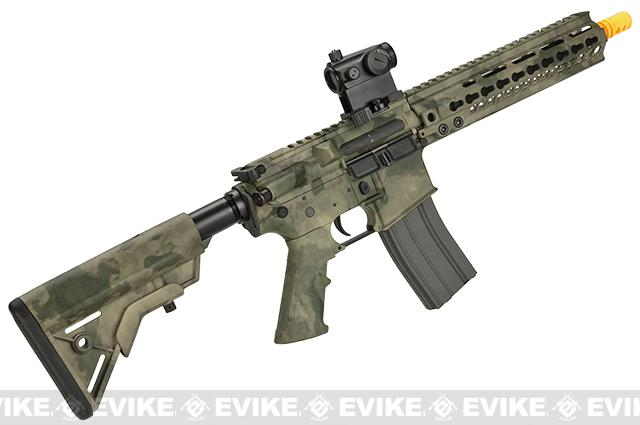 DYTAC MK5 SMR 10.5 Black Jack M4 Carbine Water-Transfer Airsoft AEG Rifle - ATACS Foliage