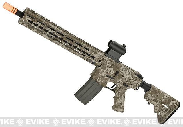 DYTAC MK5 SMR 14.5 Black Jack M4 Carbine Water-Transfer Airsoft AEG Rifle - Digital Desert