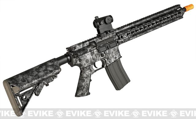 z DYTAC MK5 SMR 14.5 Black Jack M4 Carbine Water-Transfer Airsoft AEG Rifle - Reape Black