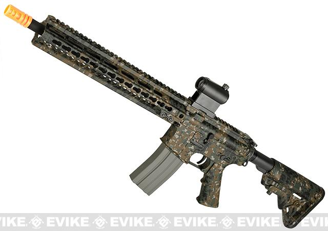 DYTAC MK5 SMR 14.5 Black Jack M4 Carbine Water-Transfer Airsoft AEG Rifle - Digital Woodland