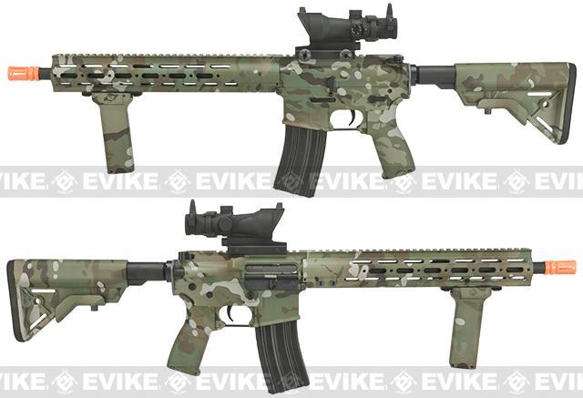Pre-Order ETA September 2017 DYTAC MK1 SMR 14.5 Black Jack M4 Carbine Water-Transfer Airsoft AEG Rifle - Multicam