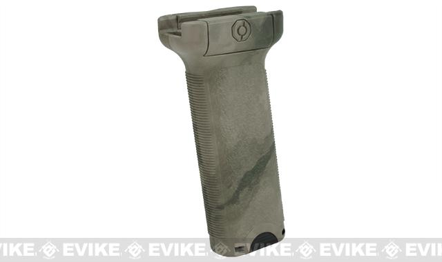 Dytac Ergonomic Vertical Grip - Long (Color: A-TACS FG)