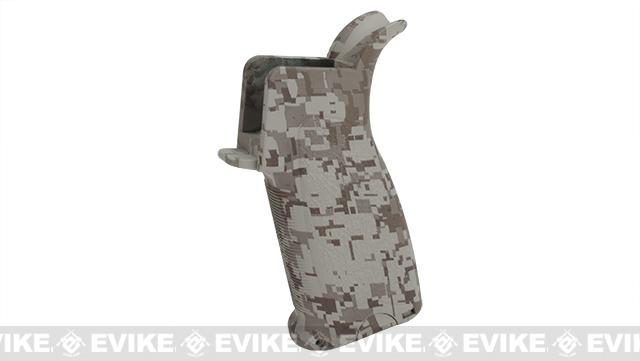 Dytac Ergonomic Combat Motor Grip for M4/M16 Airsoft AEGs - Desert Digital