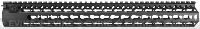 DYTAC Modular 15 KeyMod Rail System for M4 Series Airsoft AEG Rifles - Black