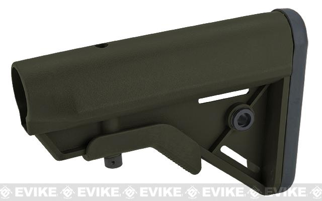 DYTAC SOPMOD Retractable Crane Stock for M4 Series Airsoft Rifles - OD Green
