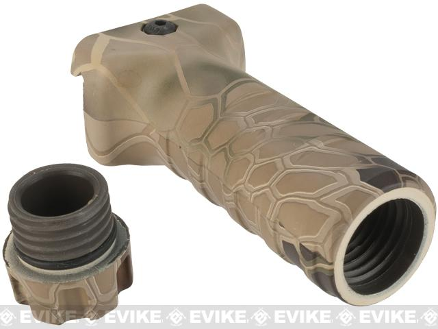 DYTAC Camouflage Eco TD Long Vertical Grip - Kryptek Highlander