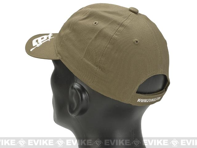Evike.com Mil-Spec Patch Ready Tactical Ball Cap - Tan (Type 2)