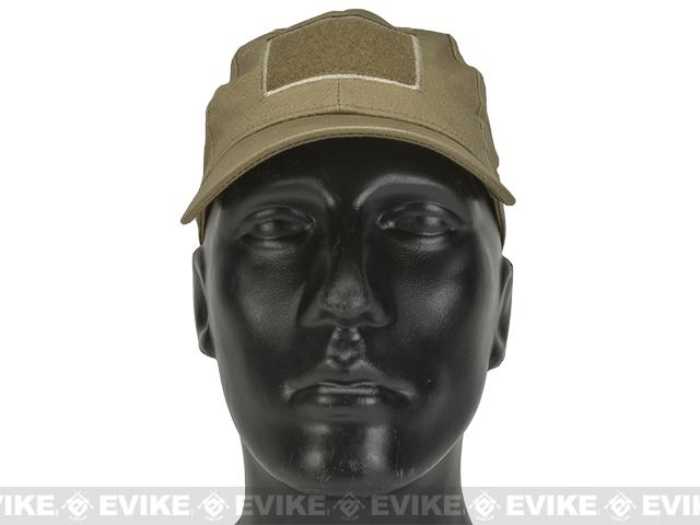 Evike.com Mil-Spec Patch Ready Tactical Ball Cap - Tan