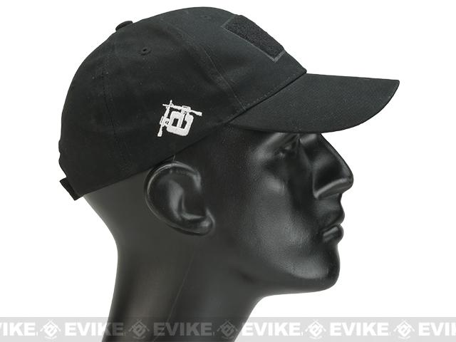 Evike.com Mil-Spec Patch Ready Tactical Ball Cap - Black