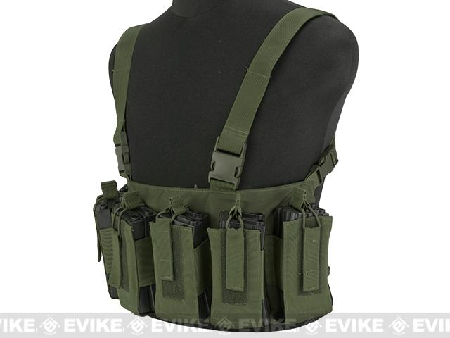 Gryffon Defense CR4 Low Profile Chest Rig - OD Green