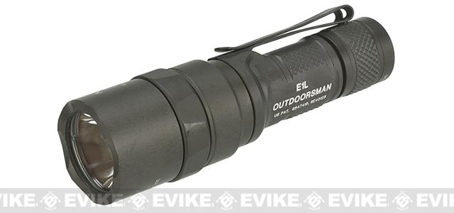 Surefire E1L Outdoorsman Compact Dual-Output LED Flashlight - Black (90 Lumens)