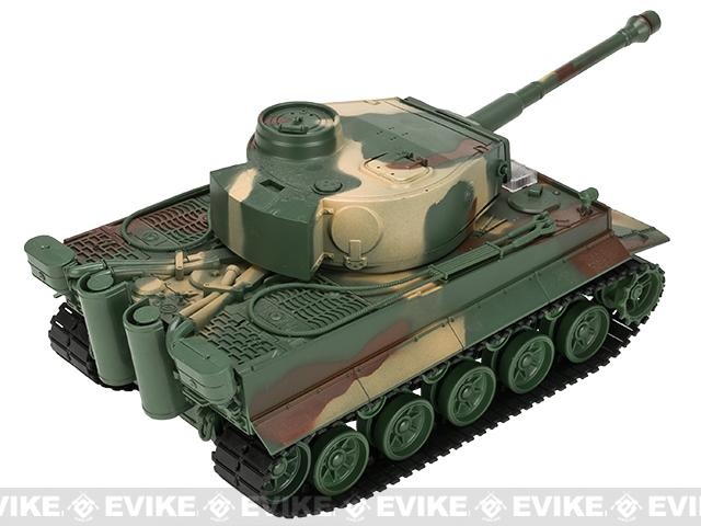 1:26 Scale RC Battle Tank - Tiger (Woodland)