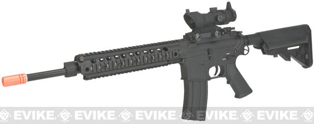 E&C Airsoft 14.5 Patrol Rifle Full Metal Airsoft AEG - Black