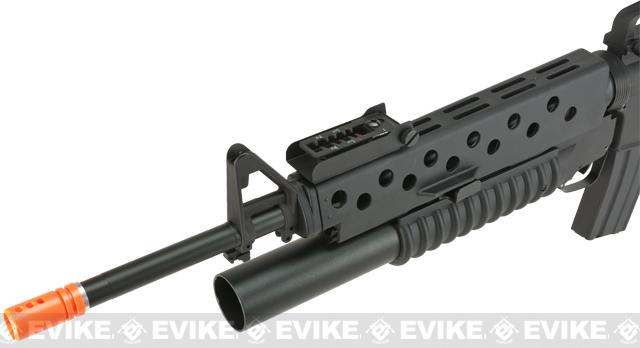 E&C Airsoft M16-A3 Airsoft AEG with M203 Airsoft Grenade Launcher