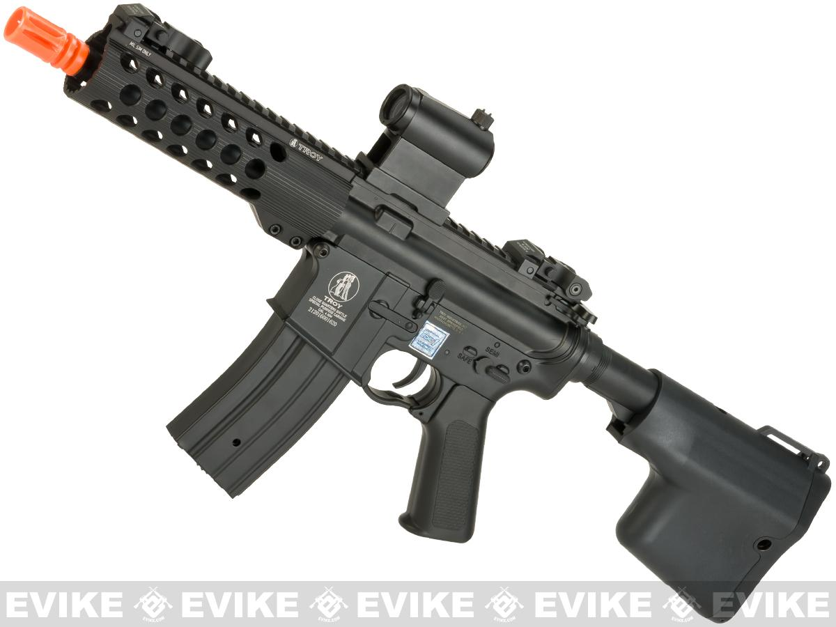 Echo1 Full Metal TROY Industry licensed Full Metal M7A1 M4 Airsoft AEG Rifle with 7 TRX Handguard