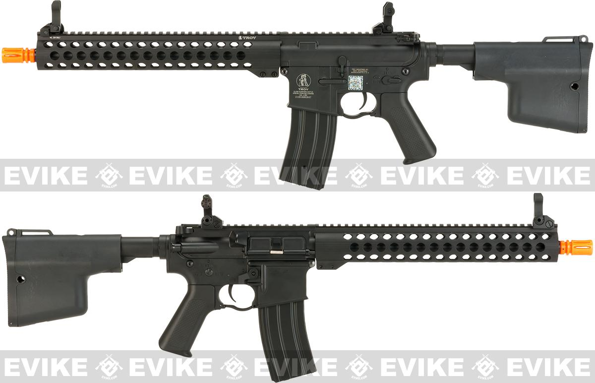 Pre-Order ETA June 2017 Echo1 Full Metal TROY Industry licensed Full Metal TRX13  13 RIS M4 Airsoft AEG Rifle