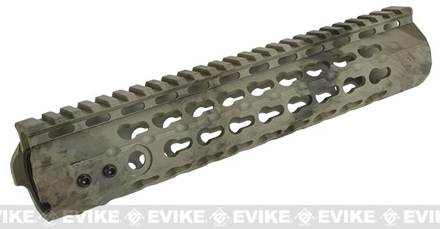 APS 10 Keymod RIS Free Float Handguard for M4 / M16 Series Airsoft AEG Rifles - ATACS AU