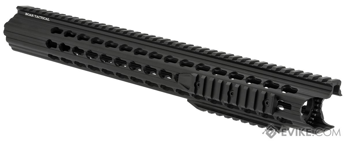 APS 16.5 Keymod RIS Low Profile Free Float Handguard for M4 / M16 Series Airsoft AEG Rifles - Black