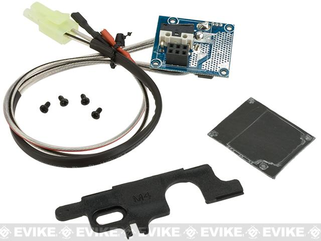 ARES E.F.C.S. Advanced Electronic Circuit Unit For ARES M4 Series Airsoft AEGs - Front Wired