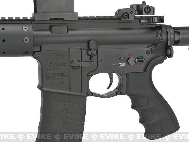 G&G FFR GC16 Full Metal Airsoft AEG Rifle with 7 Handguard - (Package: Add 9.6 Butterfly Battery + Smart Charger)