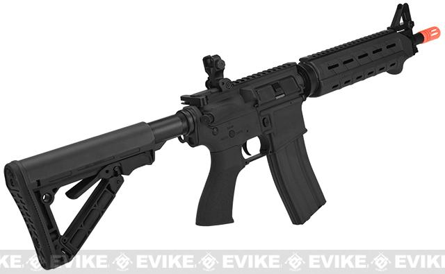 G&G CM16 Mod-0 Airsoft AEG Rifle - Black (Package: Add 9.6 Butterfly Battery + Smart Charger)