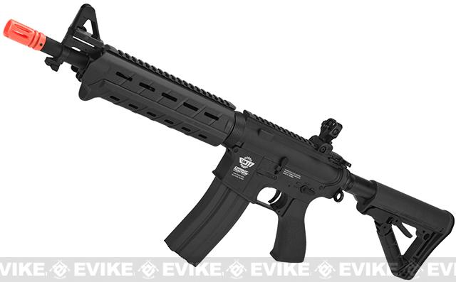G&G CM16 Mod-0 Airsoft AEG Rifle - Black (Package: Basic Starter)