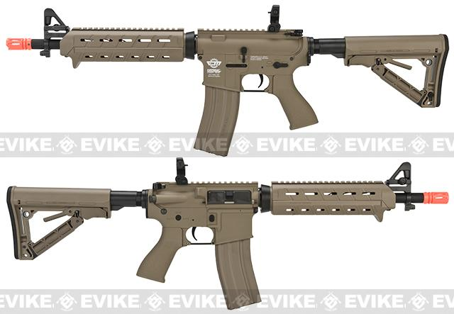 G&G CM16 Mod-0 Airsoft AEG Rifle - Tan (Package: Basic Starter)