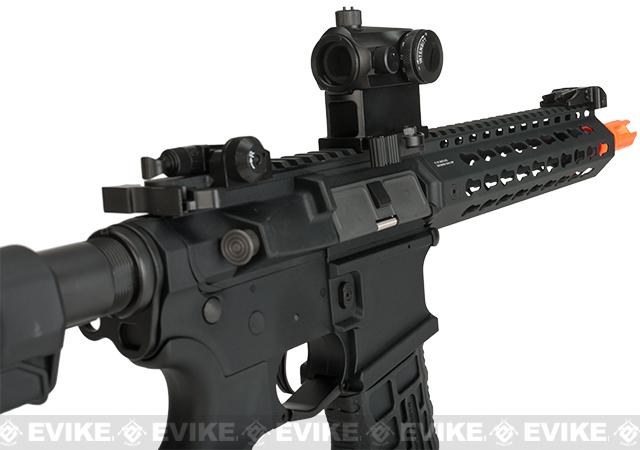 G&G Combat Machine CM16 SRL Airsoft M4 AEG Rifle with Keymod Rail - 9 (Package: Add 9.6 Butterfly Battery + Smart Charger)