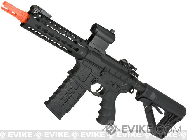 G&G Combat Machine CM16 SRS Airsoft M4 AEG Rifle with Keymod Rail - 7 (Package: Add 9.6 Butterfly Battery + Smart Charger)