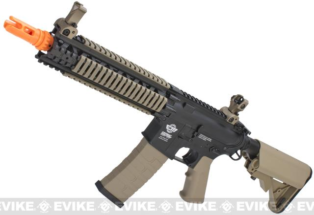 G&G CM18 MOD-1 Airsoft AEG Rifle - Black (Package: Add 9.6 Butterfly Battery + Smart Charger)