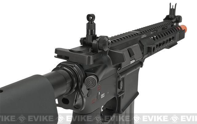 G&G Combat Machine GC16 MPW Airsoft M4 AEG Rifle with 9 Keymod Rail - (Package: Add 9.6 Butterfly Battery + Smart Charger)