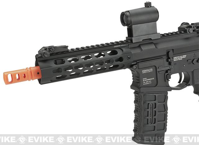 G&G GC16 Warthog Full Metal Airsoft AEG Rifle with 7 Keymod Rail - Black (Package: Gun Only)
