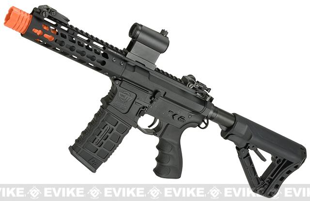 G&G CM16 Wild Hog Polymer Airsoft AEG Rifle with 7 Keymod Rail - Black (Package: Gun Only)