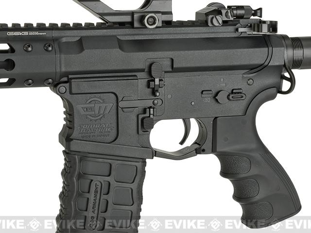 G&G CM16 Wild Hog Polymer Airsoft AEG Rifle with 13.5 Keymod Rail (Package: Gun Only)