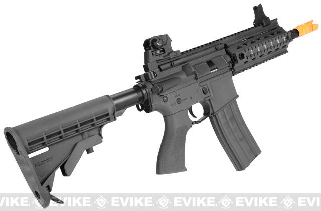 z G&G GR4 100Y Airsoft Blowback AEG Rifle w/ Retractable Stock - Black (Package: Gun Only)