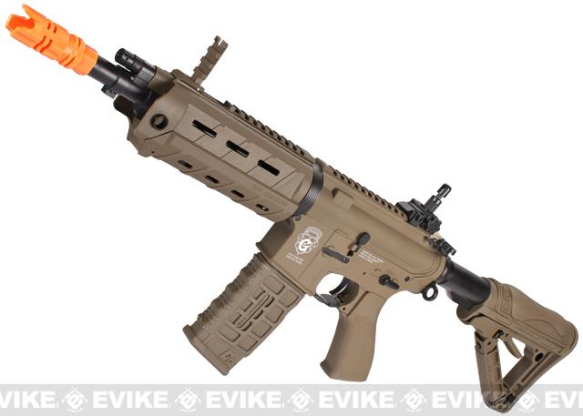 Pre-Order ETA April 2016 G&G Blowback GR4 G26 Airsoft AEG Rifle with Built-in Laser and LED Tac Light - Tan