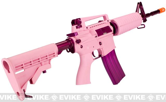 G&G Blowback Femme Fatale FF16 Airsoft AEG Rifle - (Package: Add 9.6 Butterfly Battery + Smart Charger)