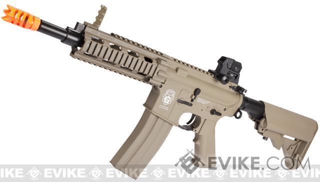 G&G GR16 CQW RUSH Airsoft Blowback AEG Rifle - Desert Tan (Package: Gun Only)