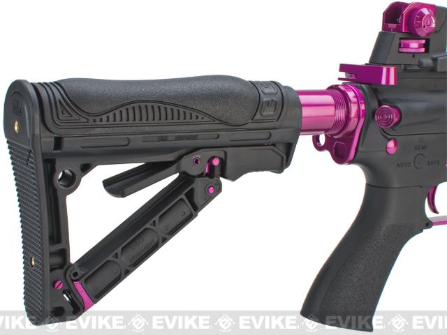 G&G GR4 G26 Airsoft Electric Blowback AEG Rifle - Black / Pink (Package: Gun Only)