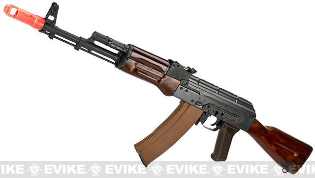 E&L Airsoft AK-74N A102 Gen. 2 Full Metal AEG Rifle w/ Real Wood Furniture