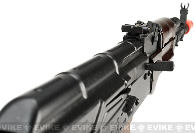 E&L Airsoft AKS-74N A105 Gen. 2 Full Metal AEG Rifle w/ Real Wood Furniture & Steel Folding Stock