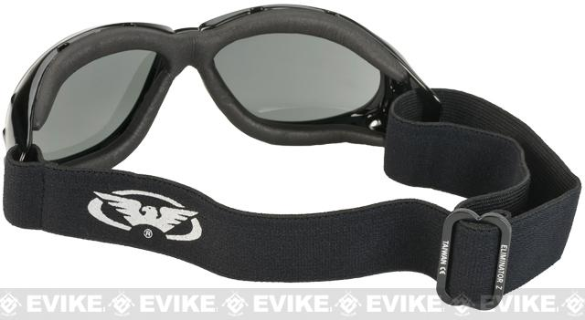 Global Vision Eliminator Z Anti-Fog Safety Goggles - Smoke