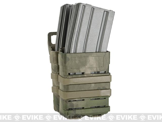 Matrix Fast Hard Shell Magazine Holster - 2x Rifle Mag Configuration (Color: Arid Foliage)