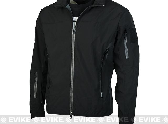 Emerson Outdoor Tactical Lightweight Softshell Jacket - Black (Size: Medium)