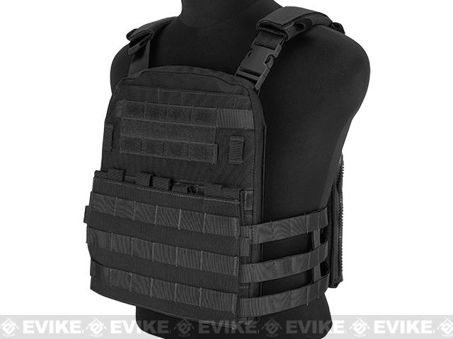Emerson Lightweight Cage Plate Carrier- Black