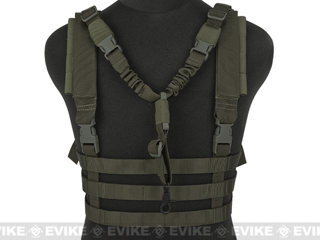 Emerson  High Speed Vest w/ Zero Gravity QD Sling - Foliage Green